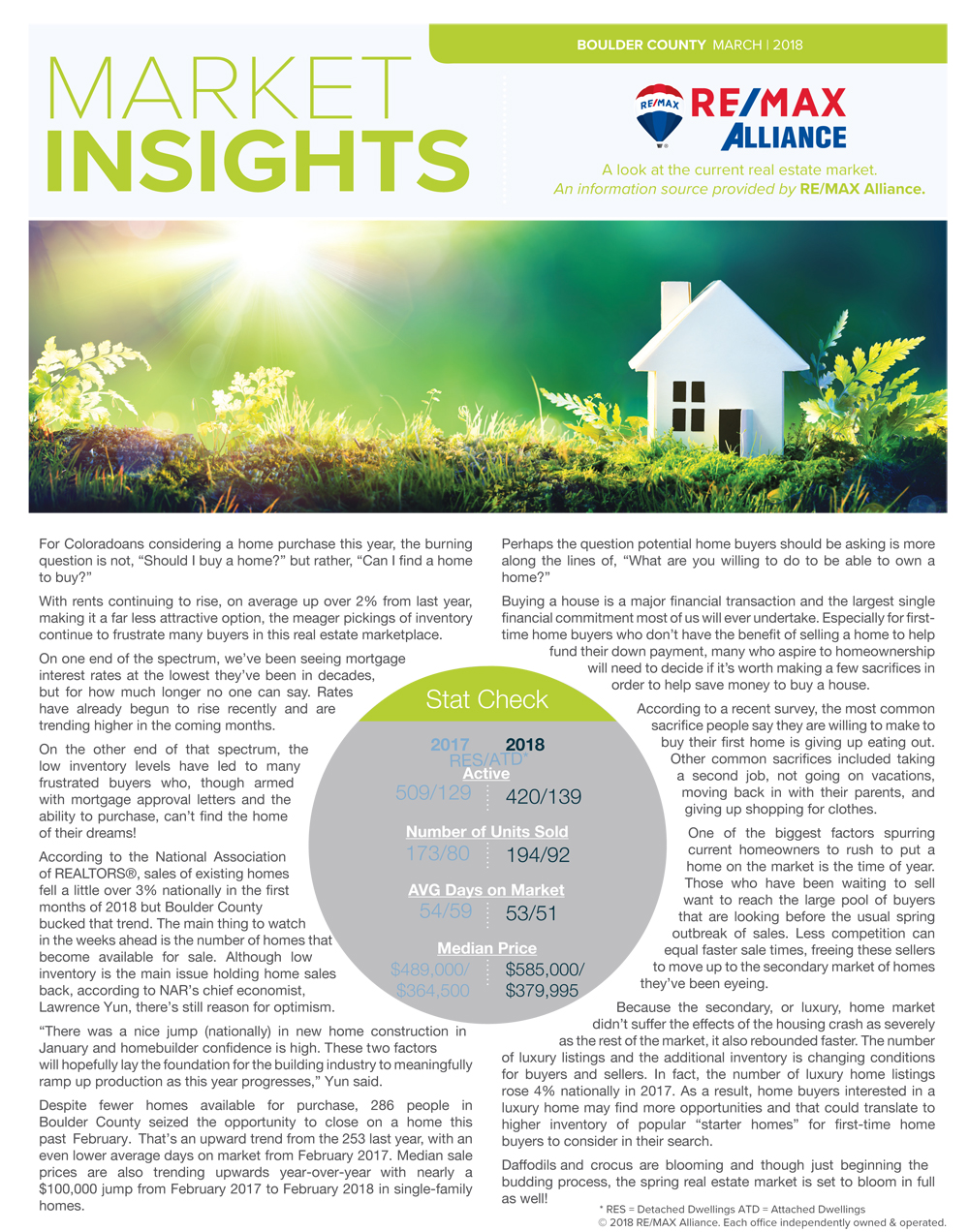 February 2018 Market Insight